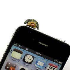 Teckel Hond Shaped 3.5mm koptelefoon jack anti-stof-plug voor de iPhone, iPad, Samsung & Others Smart Phone - EUR € 1.83