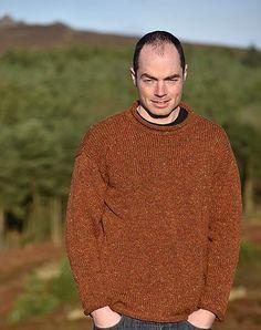 Irish roll neck sweaters, Donegal tweed woollen knitwear for men and women | Irish Inspiration
