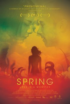 Spring (2014) - In Italy, man meets girl with big secret. Creature Feature but more quirky love story than horror -- witty, funny & fresh. Definitely will not appeal to strict gorehounds. Though beginning is very slow, there is something endearing about this film that pulls you in. The Italian countryside is a character itself contributing to the charm of this movie. The reveal explanation could have been presented better, but still, this movie is a little jewel.  Mina Tepes Rating: 3.5…