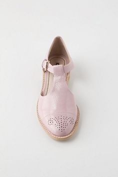 Patent T-Strap Brogues - Anthropologie.com