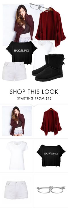 """"""""""" by valer5 ❤ liked on Polyvore featuring Hollister Co., Max 'n Chester, Ally Fashion, Jewel Exclusive and UGG Australia"""