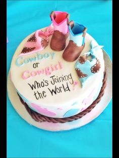 Gender Reveal Party Food and Baby Shower Drinks Ideas Tags: gender reveal party food ideas, gender reveal party food and drink, gender reveal party food ideas while pregnant, gender reveal party food ideas during pregnancy Gender Party, Baby Gender Reveal Party, Country Gender Reveal, Baby On The Way, Baby Time, Reveal Parties, Baby Shower Cakes, Just In Case, New Baby Products