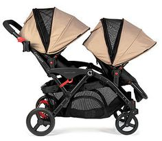 The Contours Options Elite Tandem stroller won a NAPPA Gold Award for its multiple seating options and smooth ride!