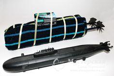 Складываем из полотенца Подводную лодку к 23 февраля и другим праздникам для мужчин #подводнаялодка #23февраля #рукоделие #мастерская #мастеркласс #МК