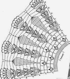 Discover thousands of images about Kira scheme crochet: collars Letayushaya_na_barse - Дневник Letayushaya_na_barse Crochet Patterns Skirt These are parts of the collar and you alone determine the length. This Pin was discovered by Sus Crochet Patt Crochet Cape, Crochet Skirts, Filet Crochet, Crochet Motif, Crochet Shawl, Crochet Doilies, Crochet Clothes, Hand Crochet, Crochet Collar