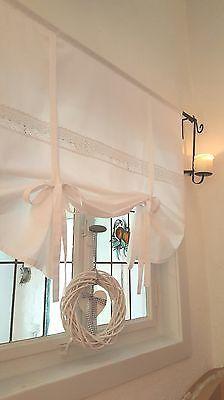 Details Zu JULIA MINT PASTELL Raffrollo 160x120cm Gardine Raffgardine  Landhaus Shabby Chic