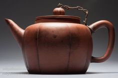 Yixing Lobed Steeping Teapot by Anonymous (Chinese Functional Object)