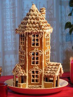 Image result for big gingerbread cabin template