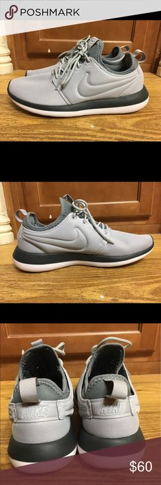 Nike Roshe two women's shoes These are brand new NIKE ROSHE TWO WOMEN'S SHOE Size 8.5, MSRP $80. Style: 844931-005  The updated midsole features three foam densities for superior, all-day cushioning. The sockliner is made of slow-recovery foam that enhances comfort underfoot.  MORE DETAILS Upper provides a soft, flexible feel Padded collar provides plush cushioning Outsole cutouts for reduced weight  If you have any questions or need more images, let me know. Nike Shoes Athletic Shoes