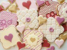 DIY Fancy Square Cookies