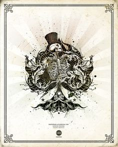 Karnival Artwork Prints by Sam Hayles, via Behance