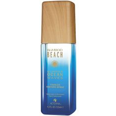 Alterna BAMBOO Beach Summer Ocean Waves Texturizing Spray/4.2 oz. (44 TND) ❤ liked on Polyvore featuring beauty products, haircare, styling products, beauty, hair, perfume, apparel & accessories, filler, alterna and alterna hair care