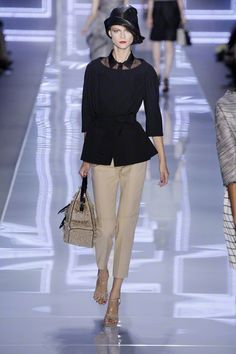 Dior runway with a vintage twist