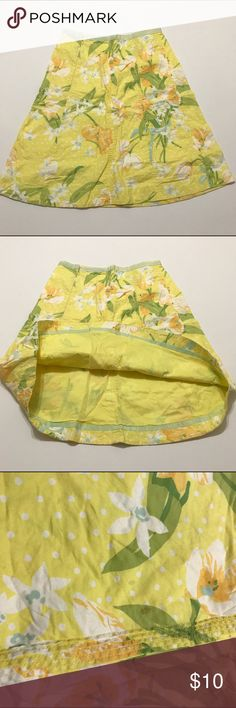 ⚡️Flash Sale⚡️Yellow Elevenses Skirt Anthropologie Skirt, please see the 3rd photo. Very faint stain. Brand Elevenses Anthropologie Skirts
