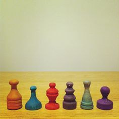 """A set of antique wooden game pieces I found in my grandparent's house. Aren't they neat? "" Cmybacon says. Chess Pieces, Game Pieces, Define Cool, Vintage Board Games, Cool Items, Art World, Objects, Shapes, Cool Stuff"