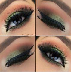 [EYES: Green for brown eyes.]
