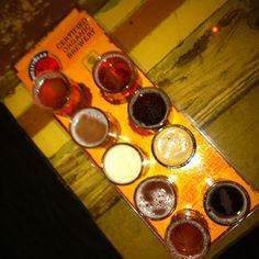 nine course dinner at thirsty bear. #beerfordinner --@claytonsu