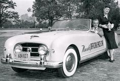 NASH built a 2 seat sports car 2 years prior to Chevy's Corvette and 4 years prior to Ford's Thunderbird!