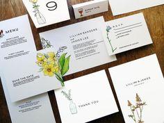 Printable Wedding Invitation Kit - LeMayr