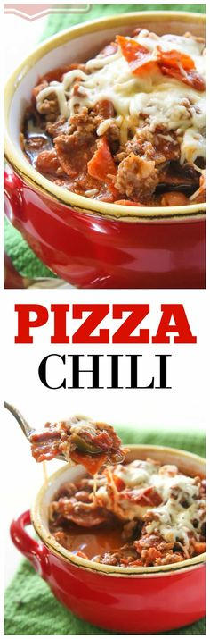 Pizza Chili - beef,...