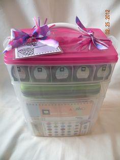 Scrapmabob Bag Eco-friendly Scrap Bag DELIGHTFUL DAMASK Scrapbooking Scrap-Ma-Bob Bag Bag