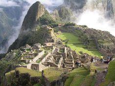 Machu Picchu, Perú es uno de las maravillas del mundo. Fue un ciudad de las Incas.