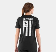 Women's WWP Freedom Flag T-Shirt from under armour