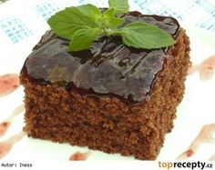 Mrkvový perník s povidly Slovak Recipes, Russian Recipes, Sweet Recipes, Cake Recipes, Eastern European Recipes, Polish Recipes, Sweet Cakes, Nutella, Food And Drink