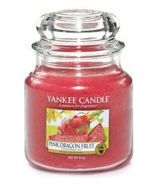 Moyenne Jarre / Bougie parfumée Fruit du Dragon Rose / Pink Dragon Fruit Medium Jar - Yankee Candle Yankee Candle : EcoDesignConcept.com votre galerie de produits naturels, ecologiques, ethiques en ligne ! Large choix d'objets ecodesign, bio