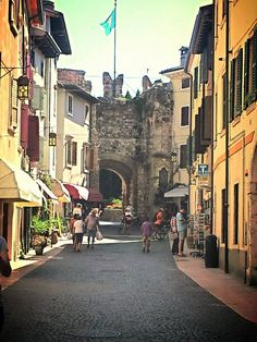 Lazise - unchanged for centuries