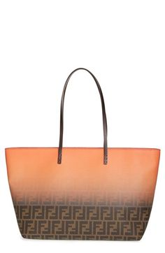 Fendi 'Ombré Zucca' Coated Fabric Tote available at #Nordstrom