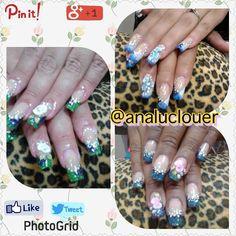Técnica  de Reversa #uñasbellas #instanails  #analuclouer #blockai  #nail #nails #nailsinstagram #nailart