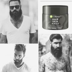 ✨Calling all men!!  If you've been wanting a thicker, longer, and fuller beard I want to talk to you today!!! I have FIVE PRODUCT TESTER SPOTS available for my 90 day challenge which means you can try our amazing Hair Skin and Nails at 40% off!!! DM me ASAP because spots will fill up fast!!!! ✨