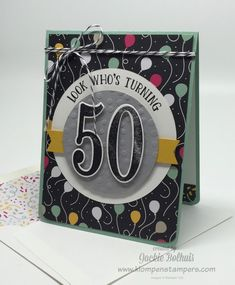 Klompen Stampers (Stampin' Up! Demonstrator Jackie Bolhuis): Featured Stamp Set: Number of Years