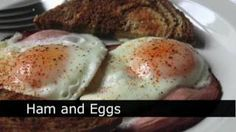 Ham And Eggs Recipe How To Make Ham And Eggs