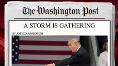 Joe warns in new column 'A Storm is Gathering' In his latest Washington Post column, Joe Scarborough says '...2018 will be the most consequential political year of our lives.' The Morning Joe panel discusses.