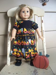 American Girl Doll Clothes  Halloween by KingsLittleBlessings, $12.00