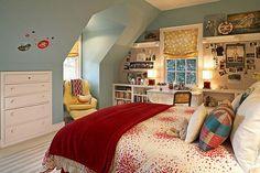 built in shelves for bedrooms :)