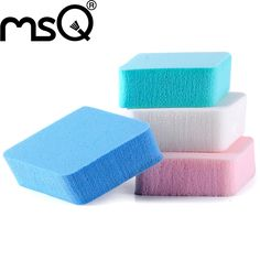 Make In China MSQ Brand 8pcs Cosmetic Puff Makeup Blender Makeup Puff Beauty Sponge For Liquid Foundation BB Cream Beauty