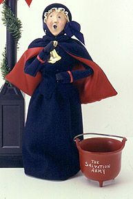 Salvation Army Woman with Bell