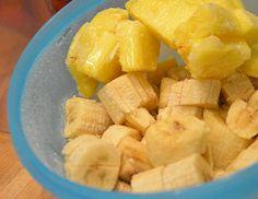 bananis8 Fruit Salad, Pineapple, Food And Drink, Desserts, Fruit Salads, Deserts, Dessert, Macedonia, Postres
