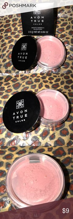 "💟NWT Blush💟 Avon True Color Smooth Minerals Blush in ""Blushing Mauve"". New & Sealed! Avon Makeup Blush"