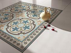 Traditional Tiles - Floor Tiles - Floor Vinyl - Tile Stickers - Tile Decals - bathroom tile decal - kitchen tile decal - 104