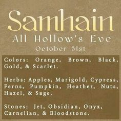 Sabbats~ Wiccans & Pagans celebrate Samhain     ✯ Visit lifespiritssocietyofmagick.com for love spells, wealth spells, healing spells, and LOA info.