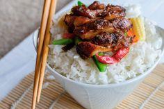 Las Mejores recetas de la comida asiática Wok Recipes, Rice, Meat, Chicken, Food, Best Recipes, Essen, Meals, Yemek