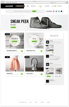 Webdesign Schweiz | Jetzt kostenlose Offerte anfordern http://www.swisswebwork.ch Uncovet. by Face. , via Behance