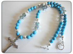 Cross Pendant Turquoise  Necklace | jnldesigns - Jewelry on ArtFire #bmecountdown