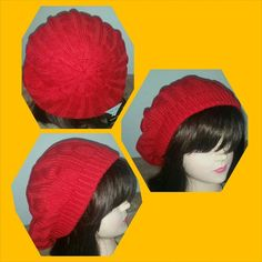 Fabulously fun red beret hat CLEARENCE Fabulously fun red beret hat NWT Wear this fab beret now into spring!  Perfect for cold and winter days It's comfy and looks great! Accessories Hats