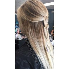 Here is a half up braided version of the #Balayage I recently did! Call…