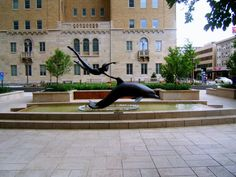 Rochester, MN : Fountain & Sculpture ~ Downtown Rochester, Minnesota